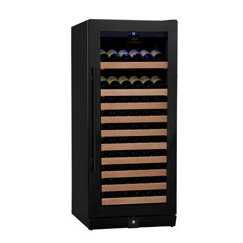 Kingsbottle 98 Bottle Single Zone Wine Refrigerator