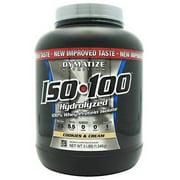 Dymatize  Iso-100, Cookies & Cream, 3 LB