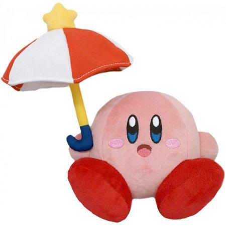 Kirby Nintendo 7 Inch Plush - Parasol Kirby (7 Parasols)