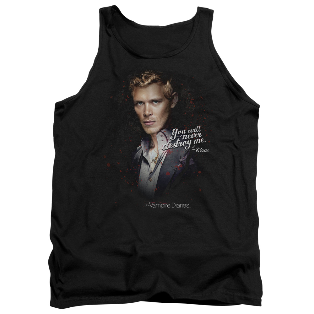 The Vampire Diaries Supernatural TV Series Never Destroy Adult Tank Top Shirt