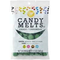 Wilton Candy Melts Dark Green Candy, 12 oz