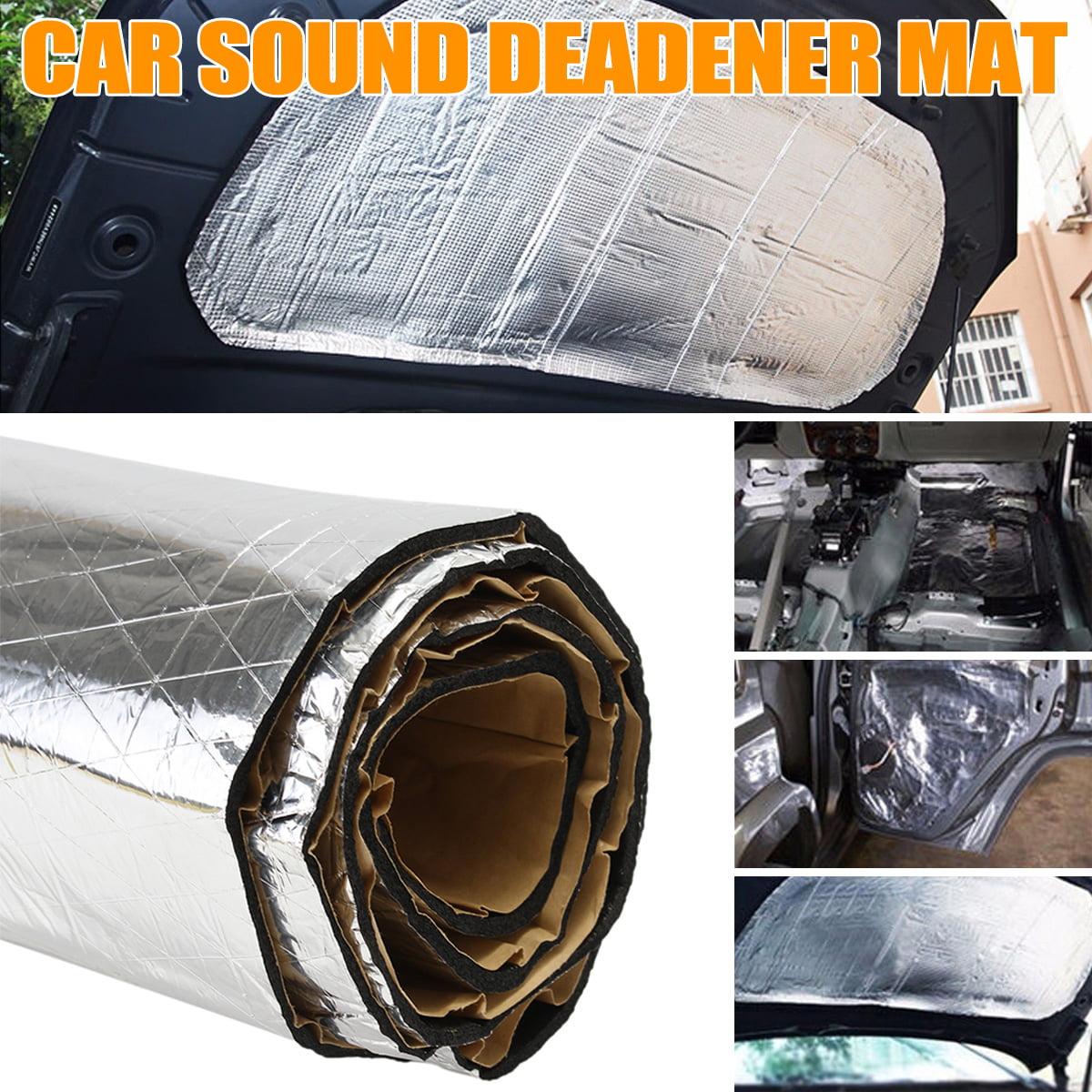 55x44 inch Car Sound Deadener Heat Shield Noise Thermal ...
