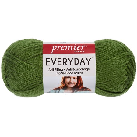 Deborah Norville Collection Everyday Solid Yarn  Christmas Green
