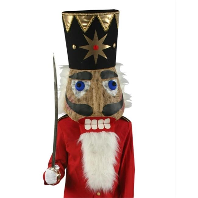 Costumes For All Occasions Ad77Sm Nutcracker Head Small