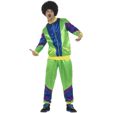 80s Male Shell Suit Adult Costume