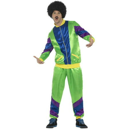 80s Male Shell Suit Adult Costume - 80s Attire Male