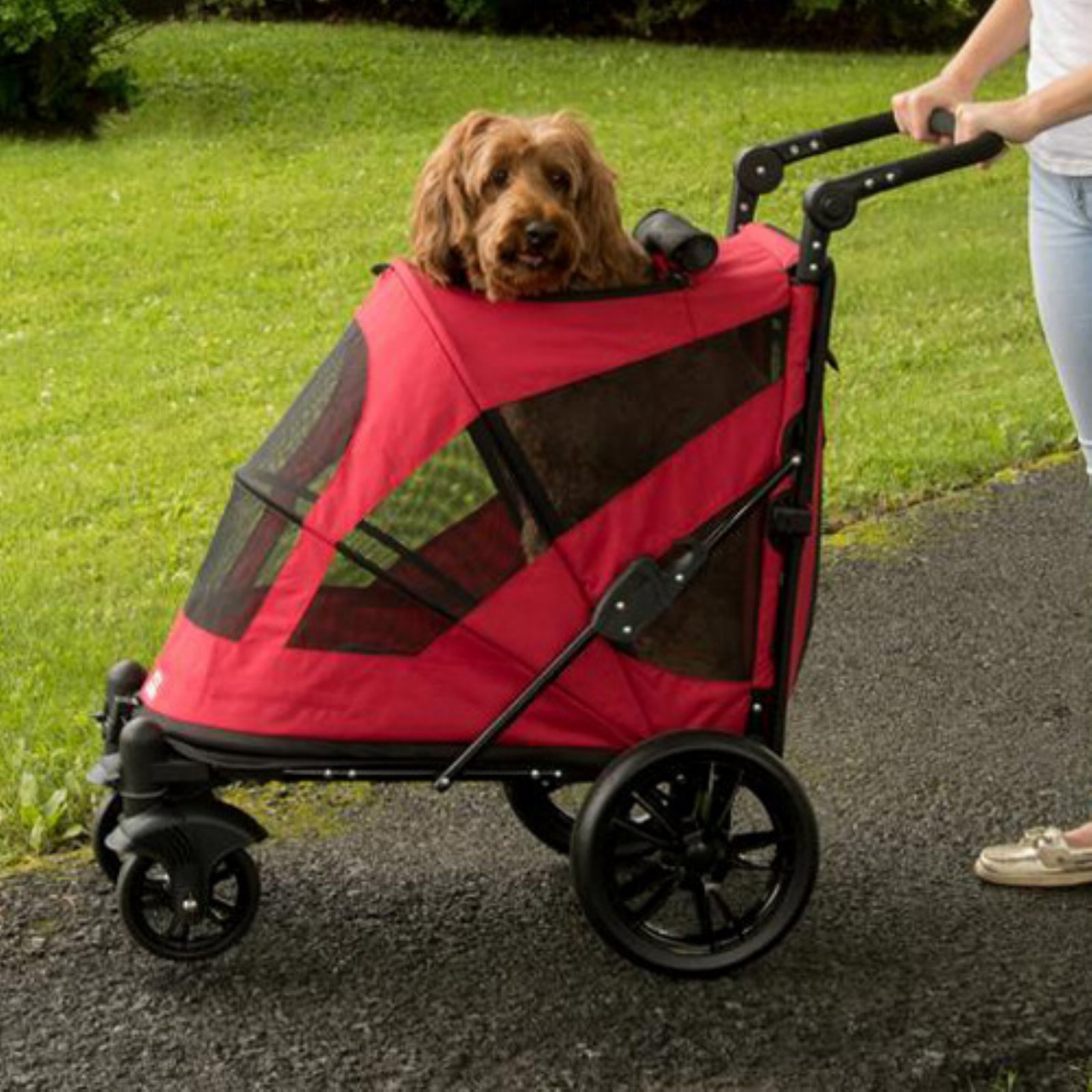 Pet Gear Excursion No-Zip Pet Stroller