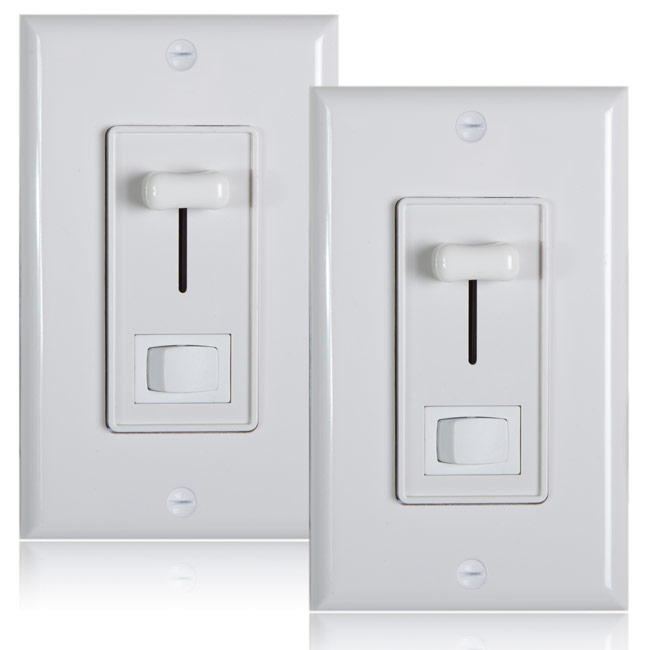 Maxxima 3-Way   Single Pole Dimmer Electrical light Switch 600 Watt max, LED Compatible,... by Maxxima