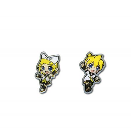 Pin Set - Vocaloid - Rin & Len 1'' (Set of 2) New ge96861 - Rin And Len Black Cats Of Halloween