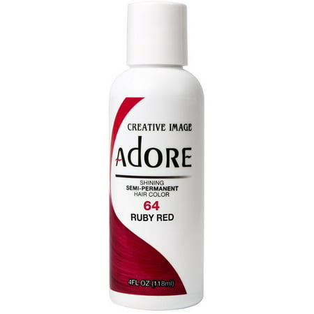 Adore Crimson Red (Creative Images Systems Adore Semi-Permanent Haircolor [064] Ruby Red 4)