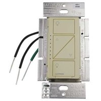 LUTRON PD-6WCL-IV Lighting Dimmer,1-Pole,120V,Ivory