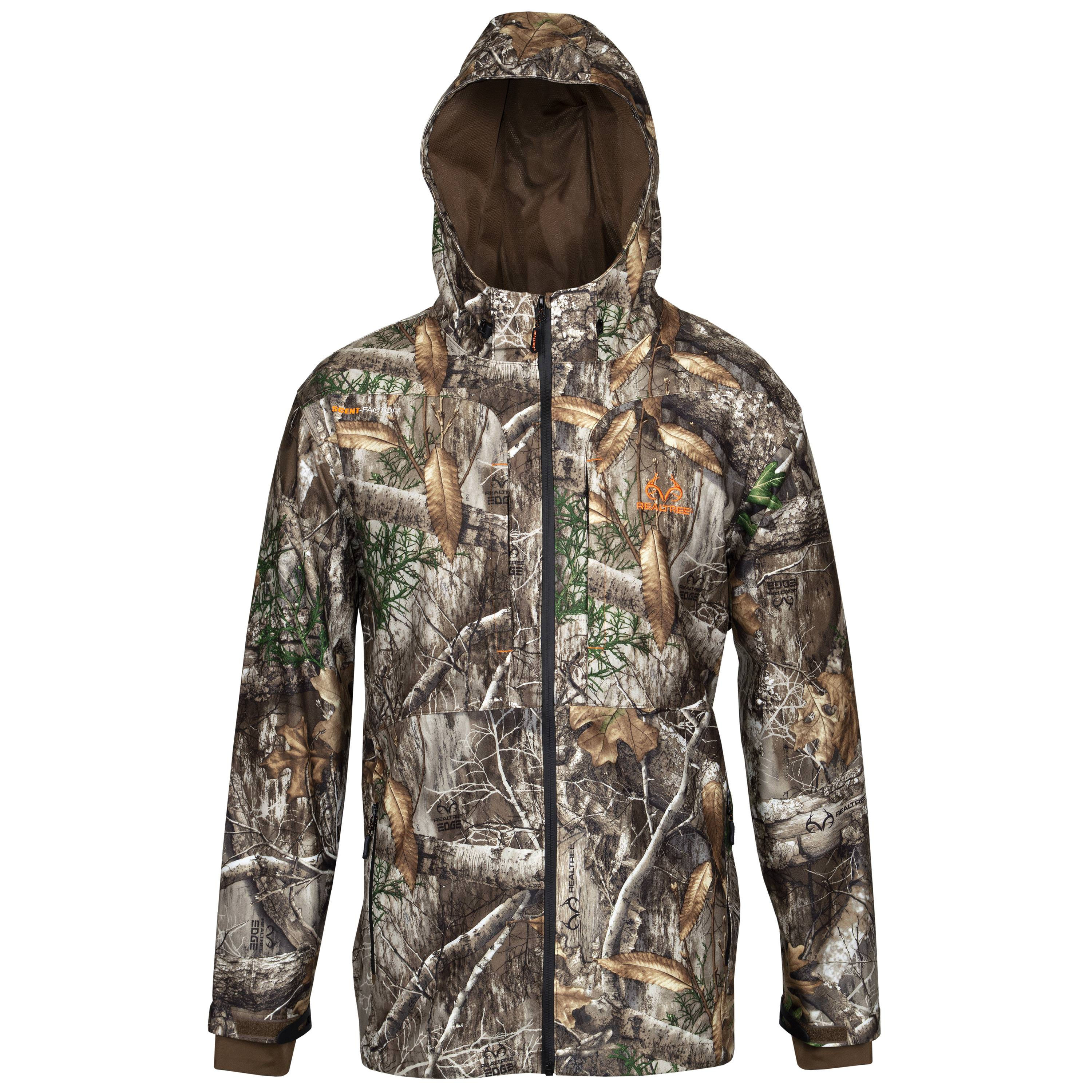 MENS CAMO SCENT CONTROL HUNTING JACKET