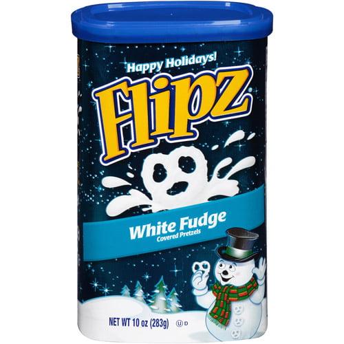 Flipz White Fudge Covered Pretzels Gift, 10 oz