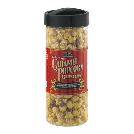 - Utz Gourmet Caramel Popcorn Clusters, 20 Oz.