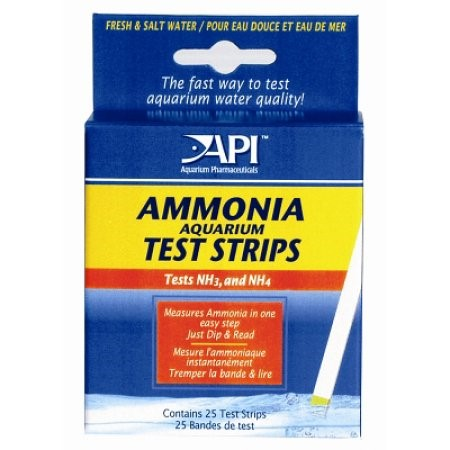Mars Fishcare API Aquatic Ammonia Test Strips, 25 Ct