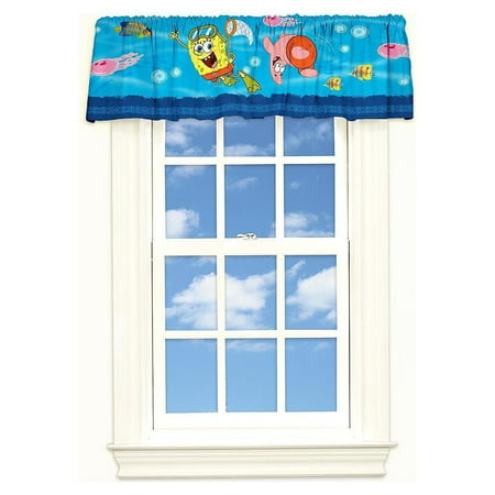 Spongebob Squarepants Window Valance