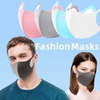1 piece Adult Kids Unisex Mouth-muffle Face Covering Fashion Clothing Washable Reusable Breathable Strechable Outdoor Protection