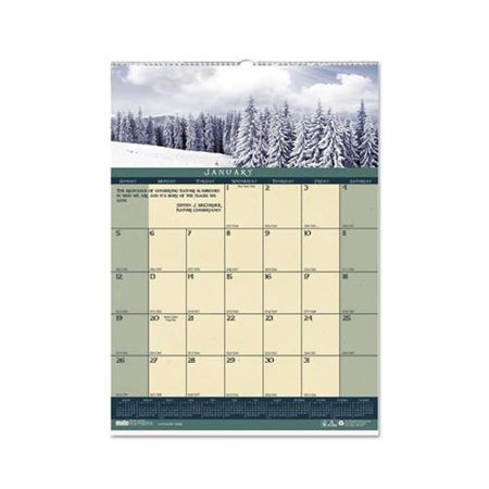 Recycled Landscapes Monthly Wall Calendar (Landscape Monthly Wall Calendar)