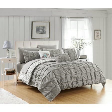 Chic Home Yabin 10 Piece Reversible Bed in a Bag Comforter Set ()