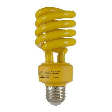SUNLITE 24W Yellow Super Twist Compact Fluorescent Bulb Compact Fluorescent Twist Bulb