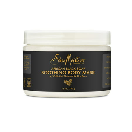 SheaMoisture African Black Soap Body Mask Soothing 12