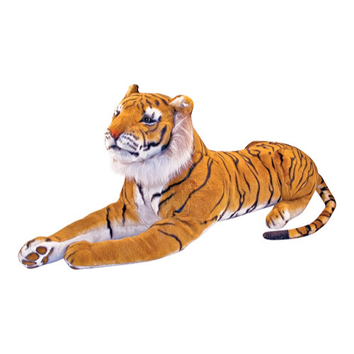 "Children's Melissa & Doug Stuffed Tiger 67"" x 20"" x 14"""