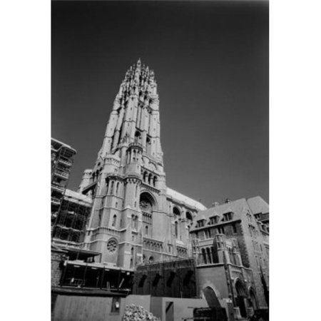 Posterazzi SAL255422633 USA New York State New York City Riverside Church Low Angle View Poster Print - 18 x 24 in.
