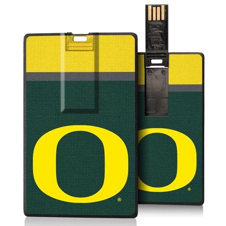 Oregon Ducks Stripe Credit Card USB Drive 16GB