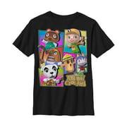 Nintendo Boys' Animal Crossing New Leaf Panels T-Shirt