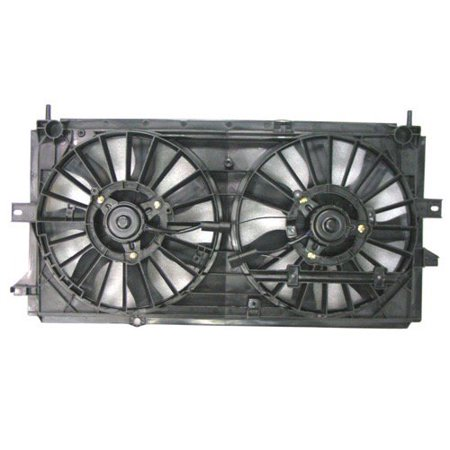 Go-Parts OE Replacement for 2002 - 2005 Buick Century Engine / Radiator Cooling Fan Assembly Performance GM3115129 Replacement For Buick Century