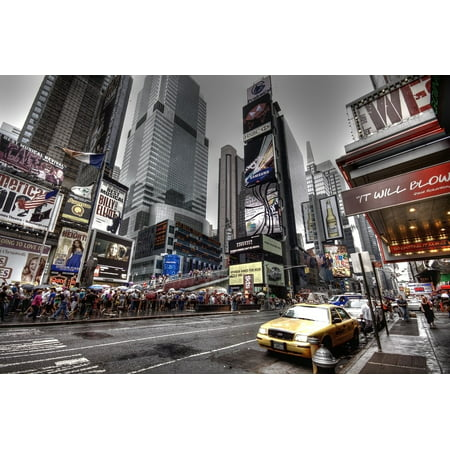 Canvas Print Usa Nyc Broadway New York New York City Stretched Canvas 10 x 14](Halloween Store Broadway Nyc)