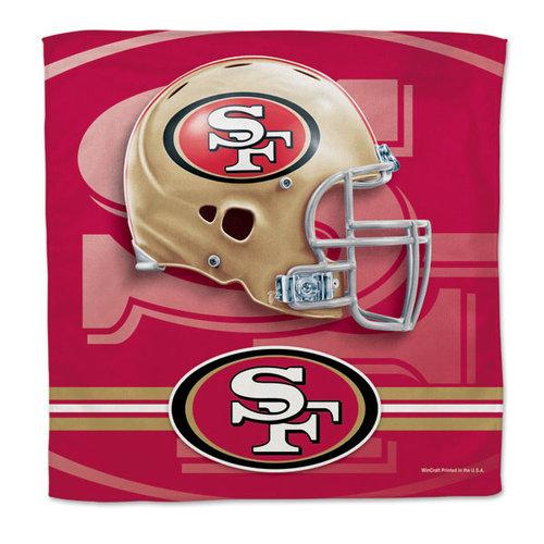 NFL - San Francisco 49ers 16x16 Microfiber Rally Towel