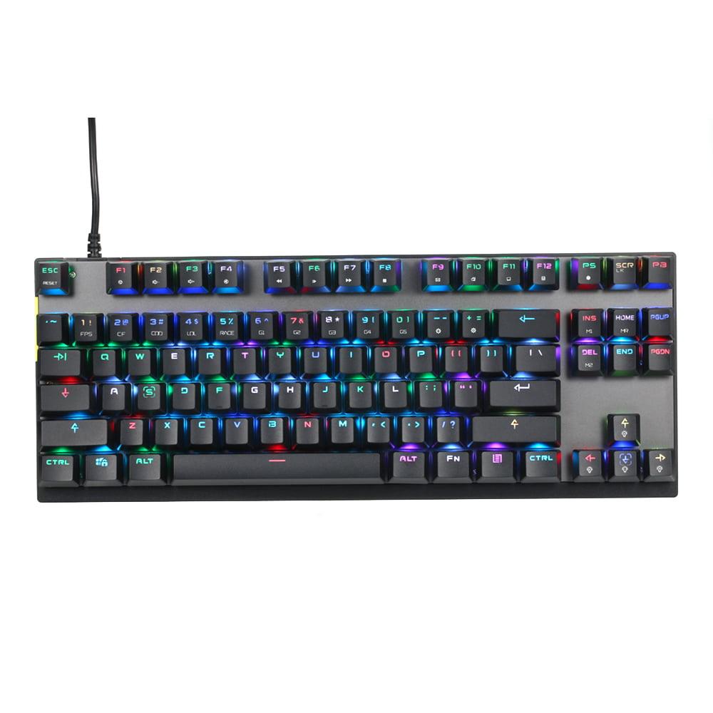 Wired USB Keyboard Gaming Keyboard for Computer Gamer