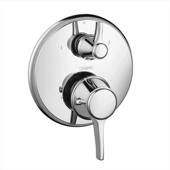 Metris C 2-Handle Thermostatic Valve Trim Kit with Volume Control and Diverter in Chrome - image 1 of 1