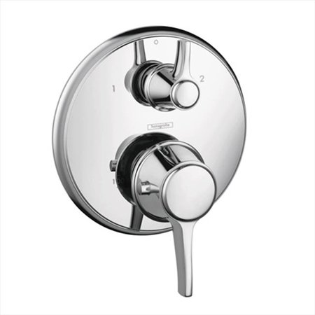 Hansgrohe 15753001 C Thermostatic Trim w/ Volume Control & Diverter (Chrome) - Partners In Crime Costume Ideas