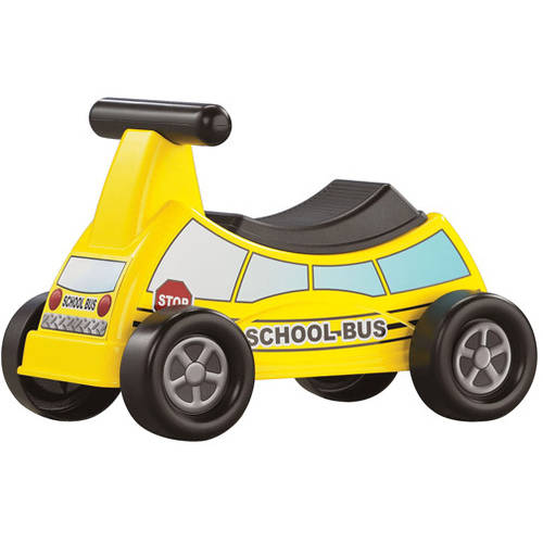 American Plastic Toys School Bus Ride-On