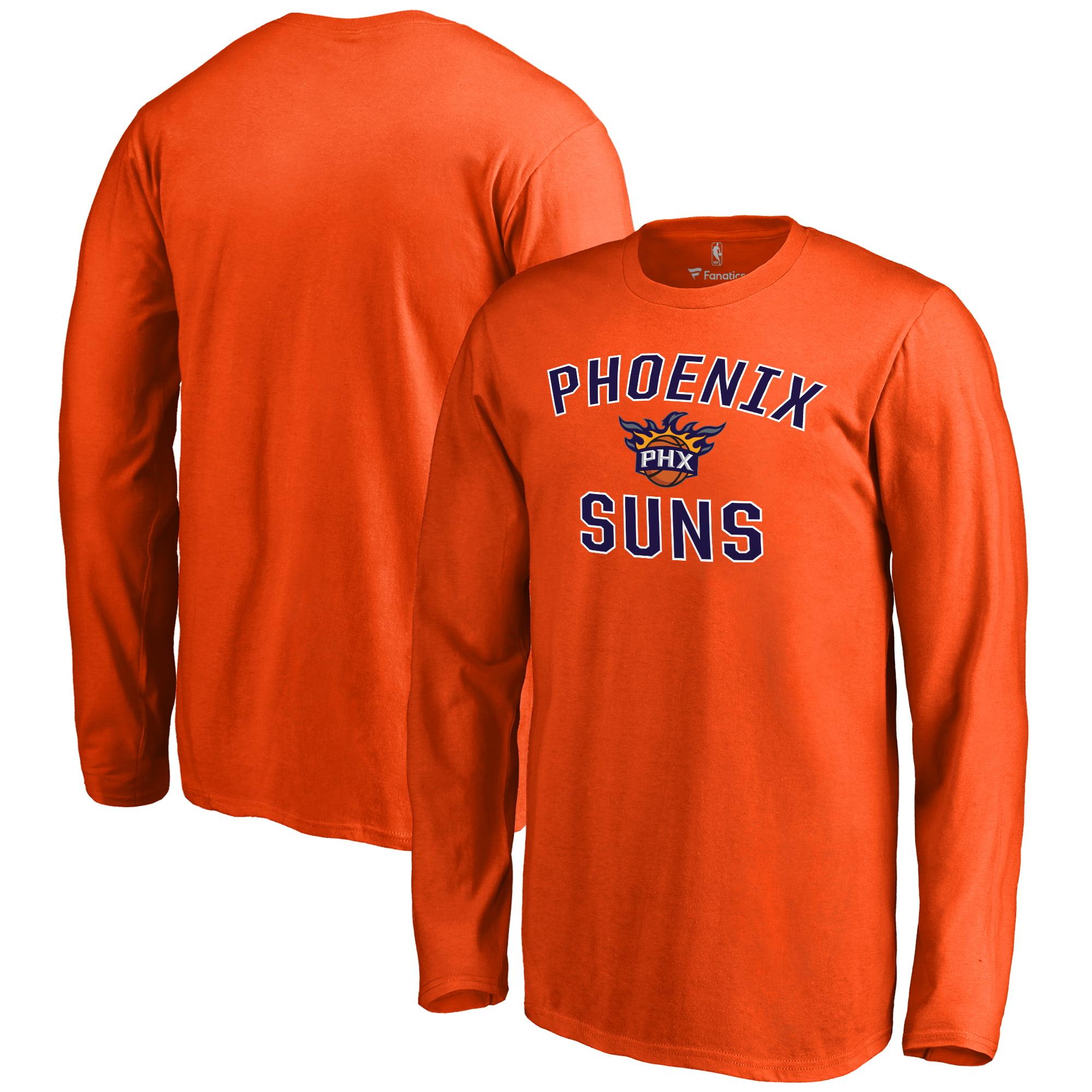 Phoenix Suns Youth Victory Arch Long Sleeve T-Shirt - Orange