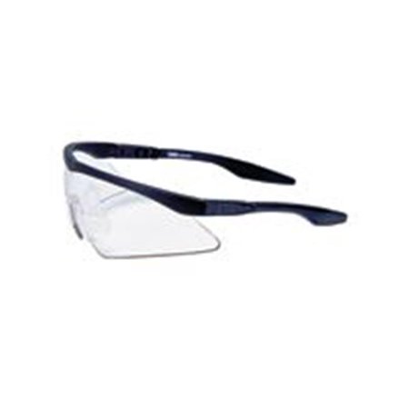 Msa 454 10026005 Safety Eyewear  Plano  Aurora  Clear Lens
