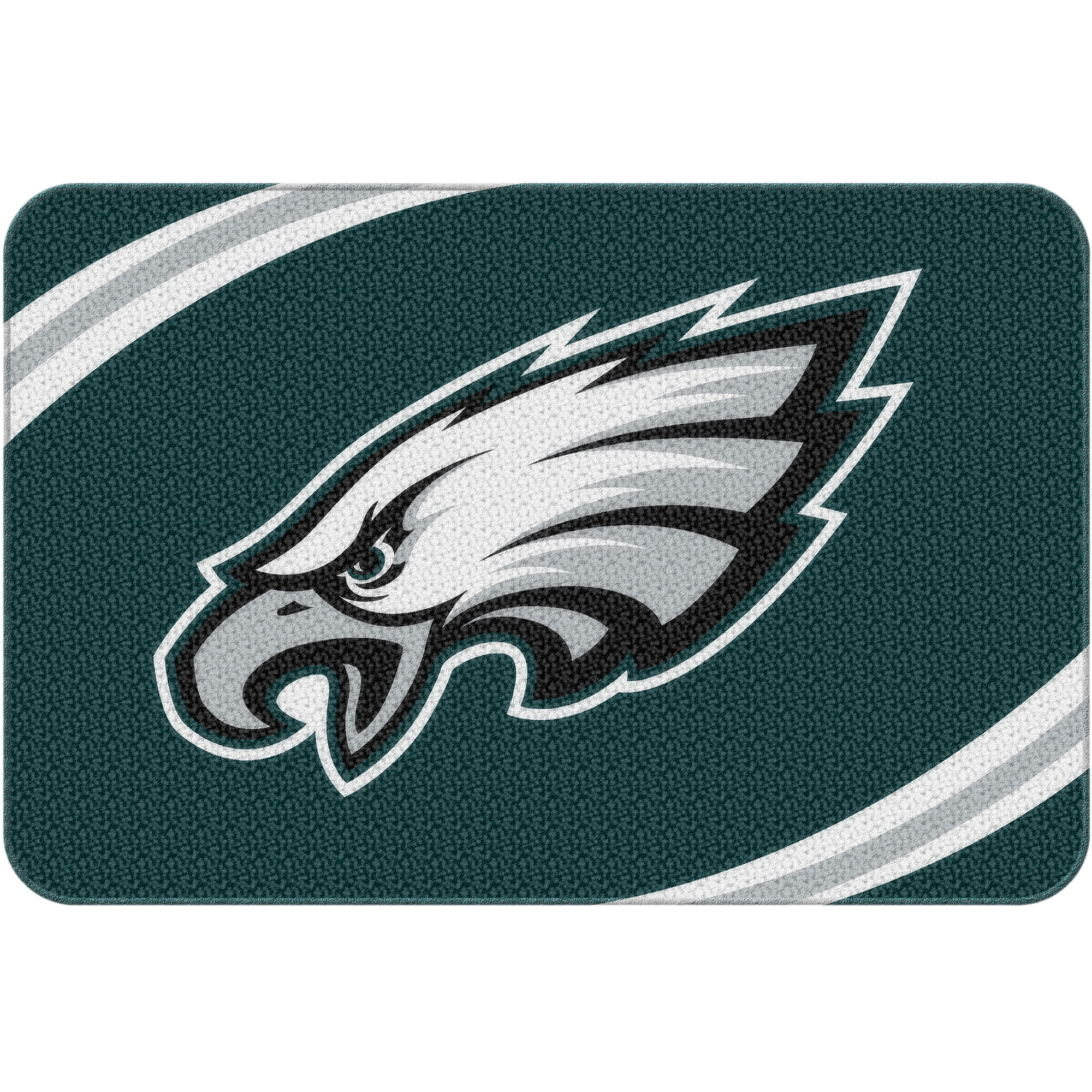 "NFL Philadelphia Eagles 20"" x 30"" Round Edge Bath Rug"