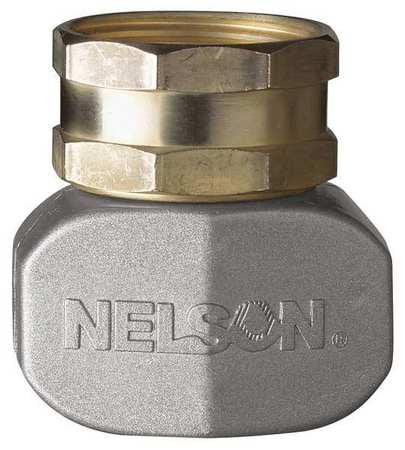 """Nelson Sprinkler 50521 5/8"""" & 3/4"""" Brass & Metal Female Hose Repair"""