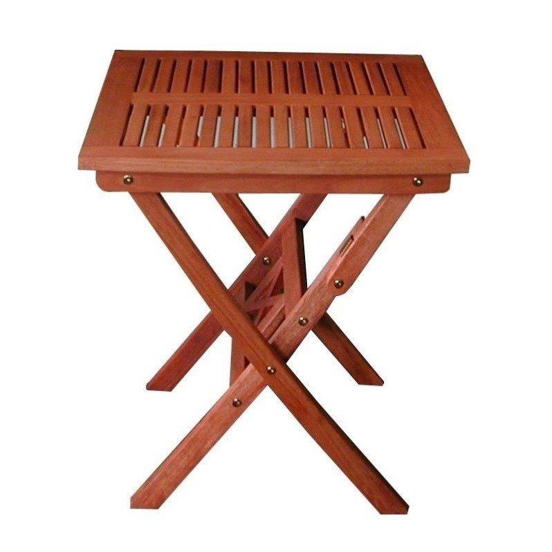 Outdoor Eucalyptus Wood Folding Bistro Table