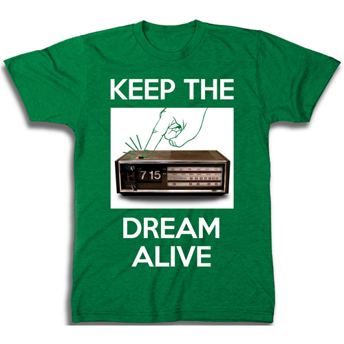 Big Mens Keep The Dream Alive Graphic Tee