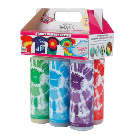TULIP ONE-STEP TIE-DYE X-LARGE BLOCK PARTY - Easy Tie Dye