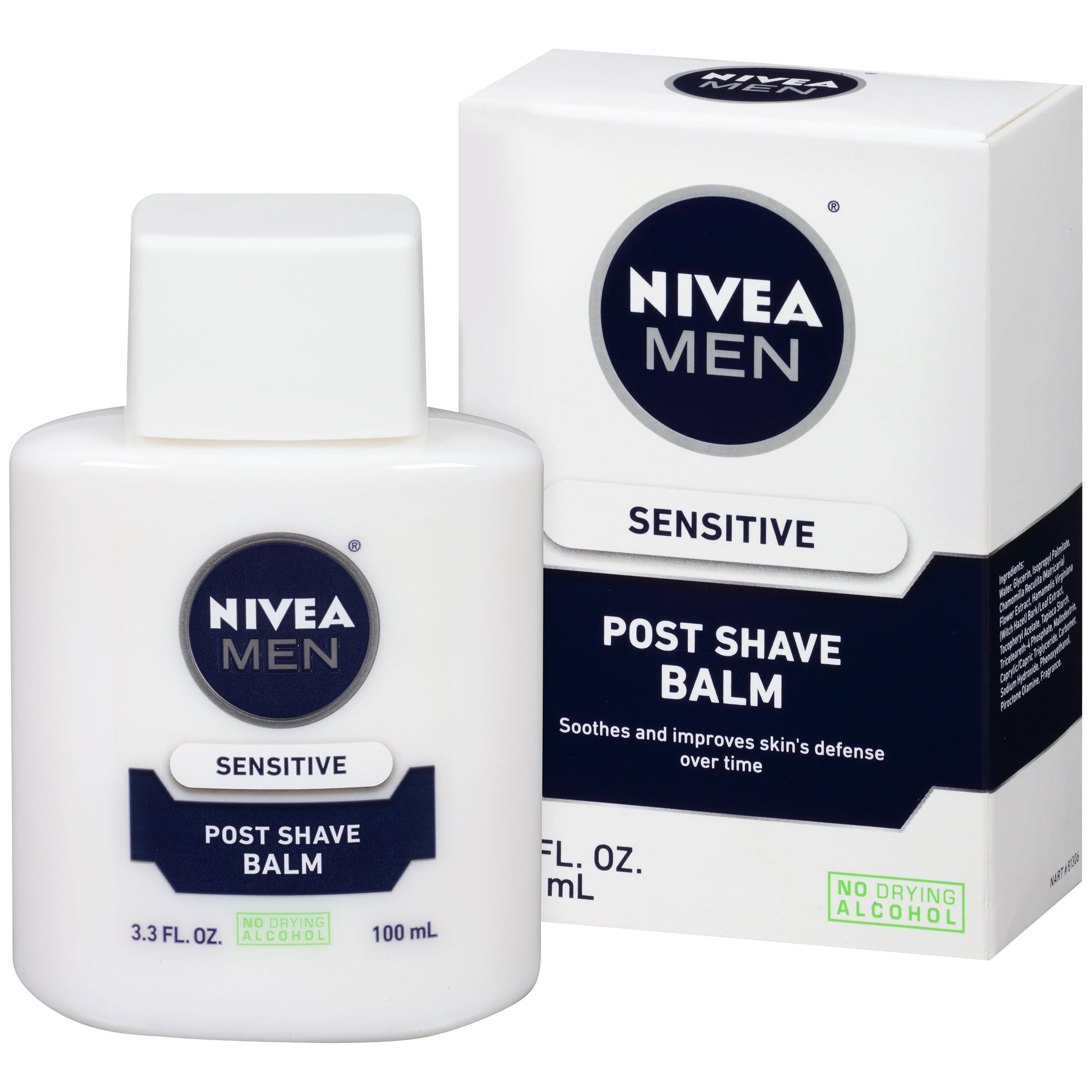 NIVEA Men Sensitive Post Shave Balm 3.3 fl. oz.