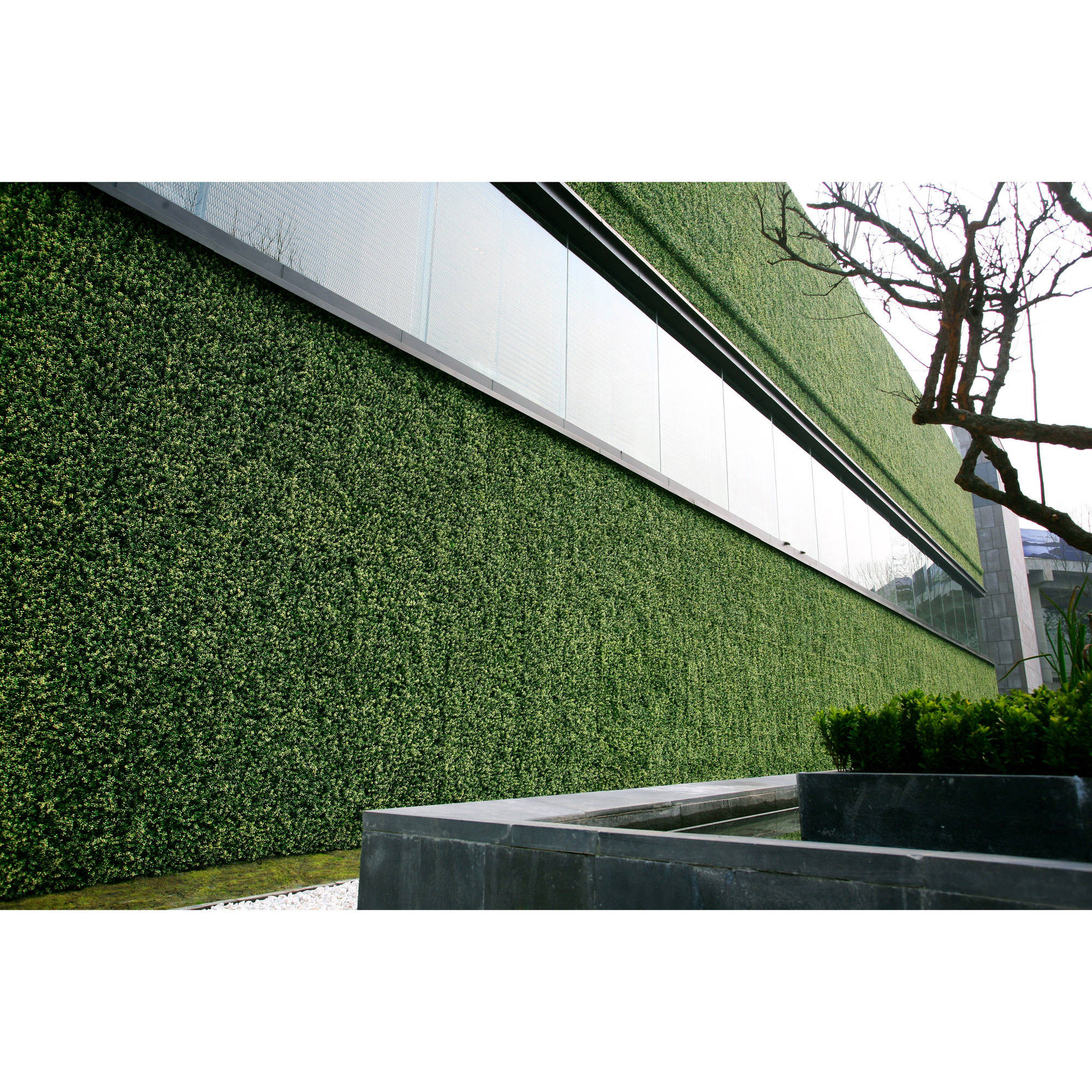 Greensmart Decor Artificial Moss Wall Panels, Set of 4