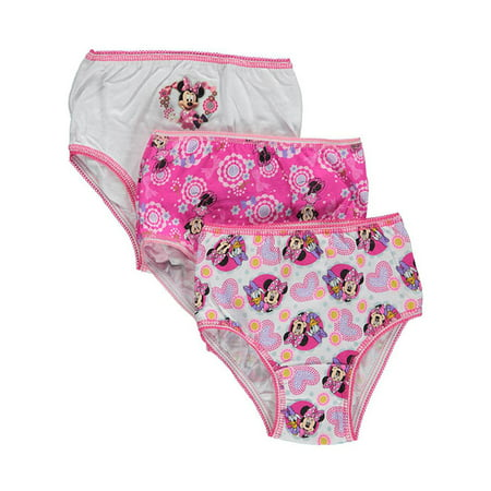Minnie Mouse Underwear Panties, 3-Pack (Toddler Girls)