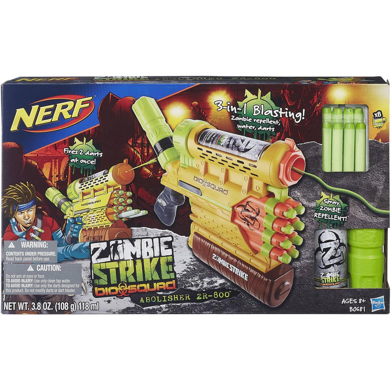 nerf zombie strike biosquad zombie abolisher zr 800 blaster