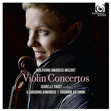 Mozart: Complete Violin Concertos (CD) ()