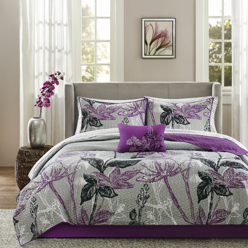 Latitude Run Eliza Complete Coverlet and Cotton Sheet Set
