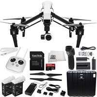DJI Inspire 1 Quadcopter EVERYTHING YOU NEED Kit. Includes Manufacturer Accessories + Extra DJI TB47B Battery + DJI Osmo